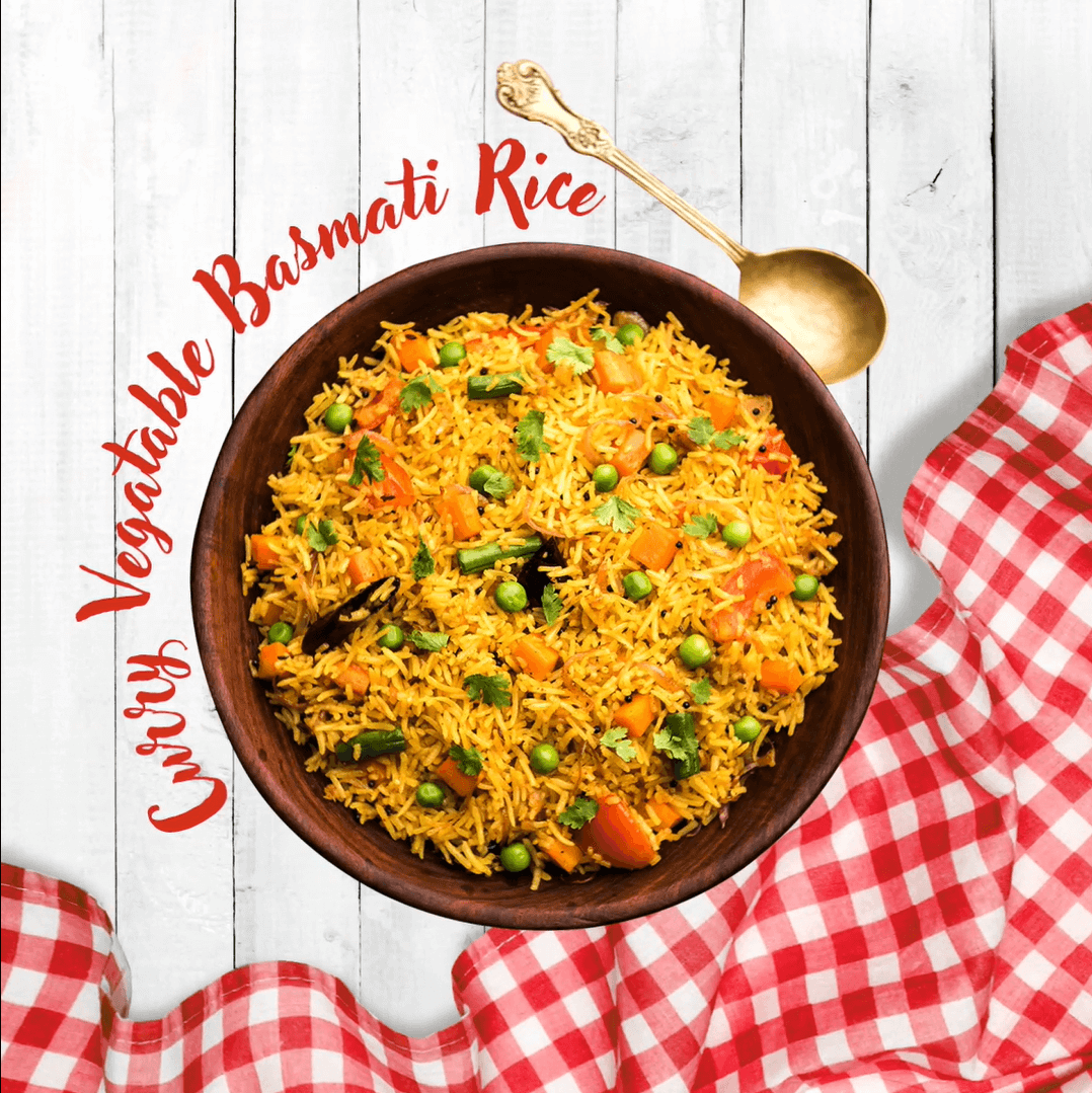 CURRY VEGETABLE BASMATI RICE