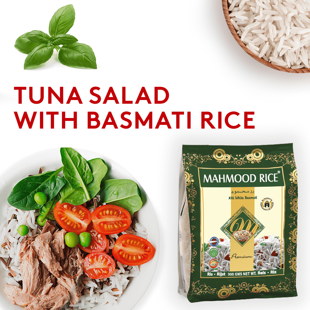 TUNA SALAD WITH BASMATI RICE
